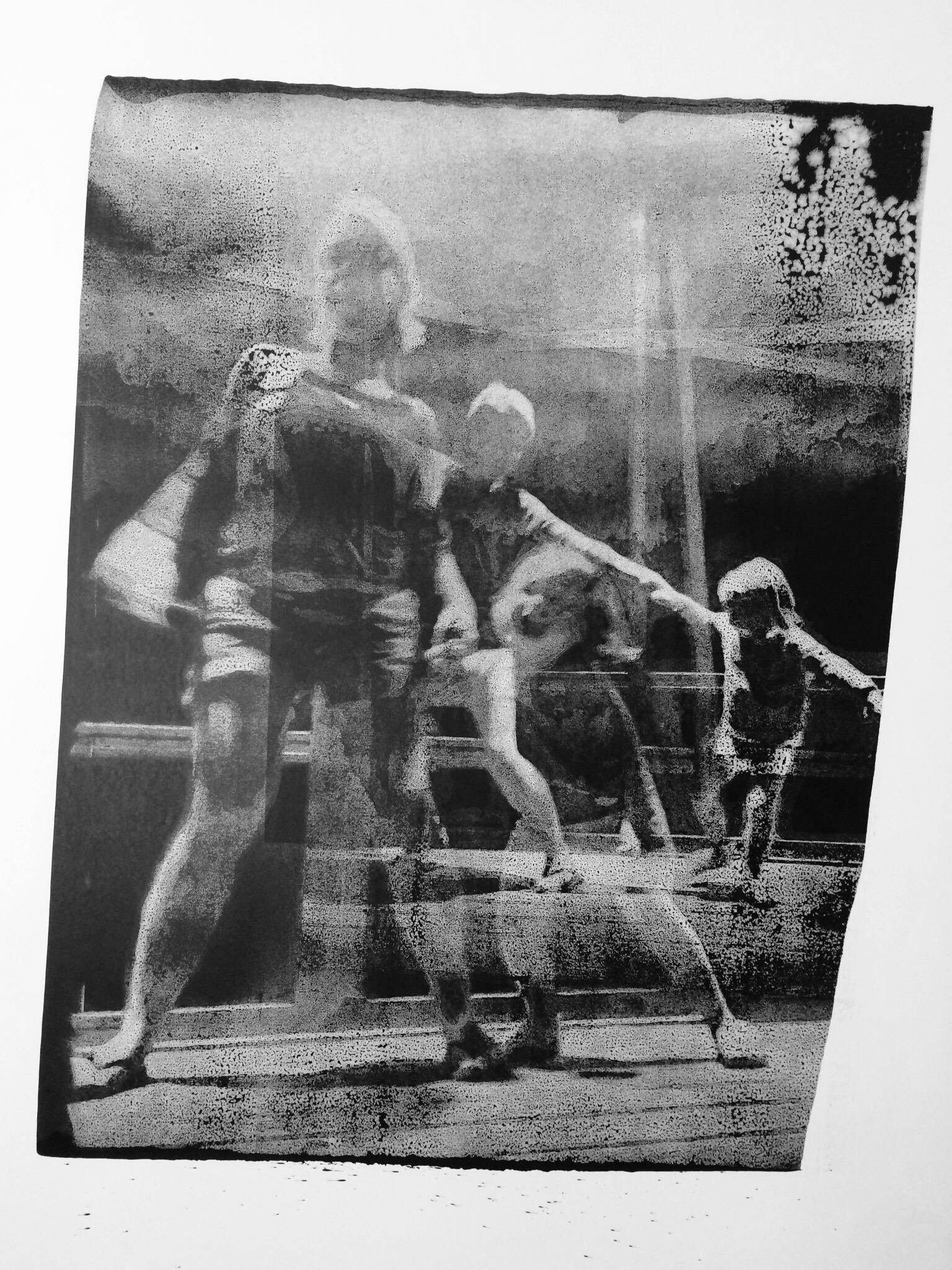 RNP 110 Encre de Chine sur papier 125 x166 cm 2017